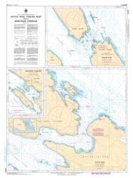 Buy map Active Pass, Porlier Pass, and/et Montague Harbour by Canadian Hydrographic Service from Canada Maps Store