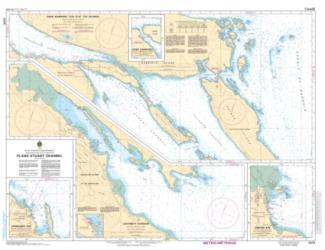 Buy map Plans - Stuart Channel by Canadian Hydrographic Service from Canada Maps Store