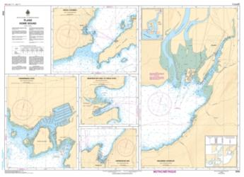 Buy map Plans - Howe Sound by Canadian Hydrographic Service from Canada Maps Store