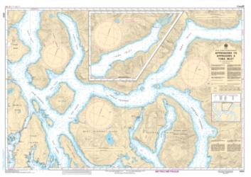 Buy map Approaches to/Approches a Toba Inlet by Canadian Hydrographic Service from Canada Maps Store