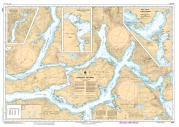 Buy map Cordero Channel by Canadian Hydrographic Service from Canada Maps Store