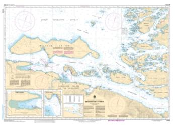 Buy map Broughton Strait by Canadian Hydrographic Service from Canada Maps Store