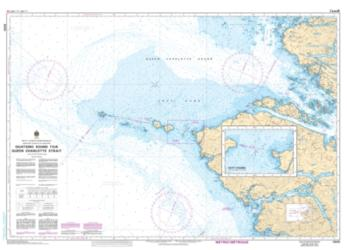 Buy map Quatsino Sound to/a Queen Charlotte Strait by Canadian Hydrographic Service from Canada Maps Store