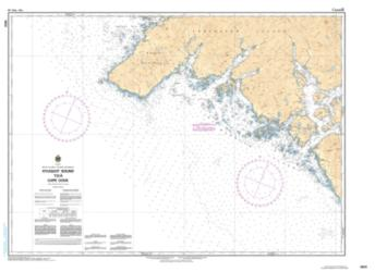 Buy map Kyuquot Sound to/a Cape Cook by Canadian Hydrographic Service from Canada Maps Store