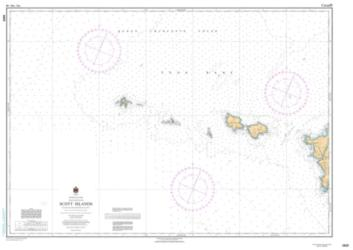 Buy map Scott Islands by Canadian Hydrographic Service from Canada Maps Store