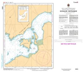 Buy map Scouler Entrance by Canadian Hydrographic Service from Canada Maps Store