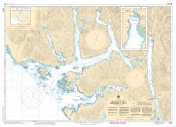 Buy map Esperanza Inlet by Canadian Hydrographic Service from Canada Maps Store