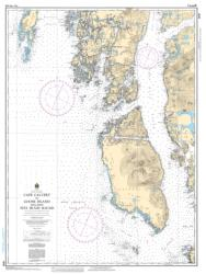 Buy map Cape Calvert to Goose Island Including Fitz Hugh Sound by Canadian Hydrographic Service from Canada Maps Store