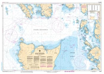 Buy map Dixon Entrance by Canadian Hydrographic Service from Canada Maps Store