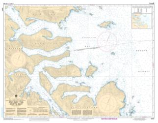 Buy map Atli Inlet to/a Selwyn Inlet by Canadian Hydrographic Service from Canada Maps Store