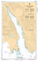 Buy map Louscoone Inlet by Canadian Hydrographic Service from Canada Maps Store
