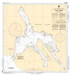 Buy map Tasu Sound by Canadian Hydrographic Service from Canada Maps Store