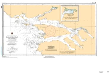 Buy map Englefield Bay and Vicinity by Canadian Hydrographic Service from Canada Maps Store