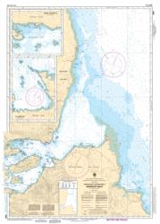 Buy map Approaches to/Approches a Skidegate Inlet by Canadian Hydrographic Service from Canada Maps Store