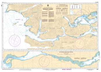 Buy map Skidegate Channel by Canadian Hydrographic Service from Canada Maps Store