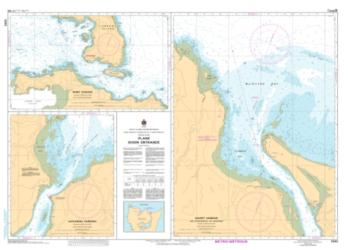 Buy map Plans - Dixon Entrance by Canadian Hydrographic Service from Canada Maps Store