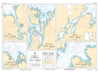 Buy map Plans Chatham Sound by Canadian Hydrographic Service from Canada Maps Store