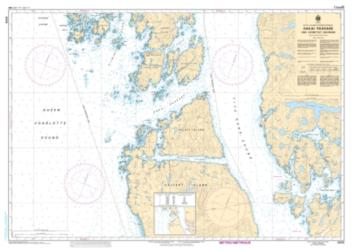 Buy map Hakai Passage and Vicinity/et Environs by Canadian Hydrographic Service from Canada Maps Store