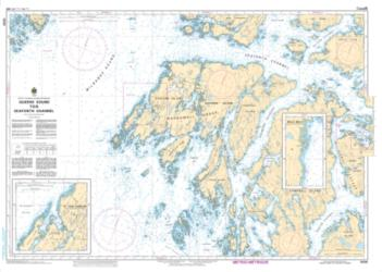 Buy map Queens Sound to/a Seaforth Channel by Canadian Hydrographic Service from Canada Maps Store