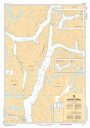 Buy map Mathieson Channel Northern Portion/Partie Nord by Canadian Hydrographic Service from Canada Maps Store