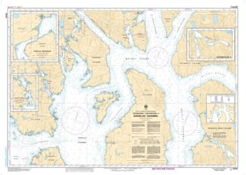 Buy map Approaches to/Approches a Douglas Channel by Canadian Hydrographic Service from Canada Maps Store