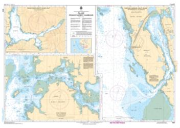 Buy map Plans - Prince Rupert Harbour by Canadian Hydrographic Service from Canada Maps Store