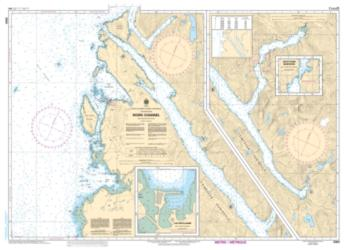 Buy map Work Channel by Canadian Hydrographic Service from Canada Maps Store