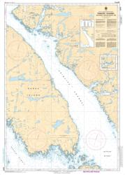 Buy map Principe Channel Southern Portion/Partie Sud by Canadian Hydrographic Service from Canada Maps Store