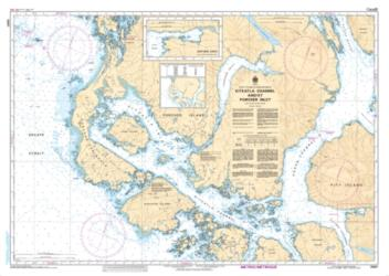 Buy map Kitkatla Channel and/et Porcher Inlet by Canadian Hydrographic Service from Canada Maps Store