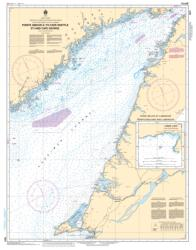 Buy map Pointe Amour a/to Cape Whittle et/and Cape George by Canadian Hydrographic Service from Canada Maps Store