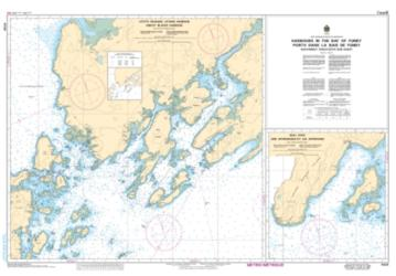 Buy map Harbours in the Bay of Fundy, Southwest Coast/Cote Sud-Ouest by Canadian Hydrographic Service from Canada Maps Store
