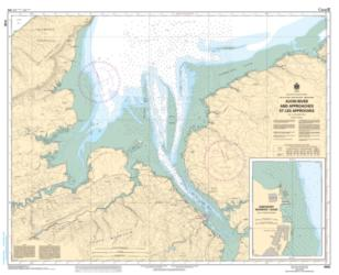 Buy map Avon River and Approaches/et les Approches by Canadian Hydrographic Service from Canada Maps Store