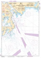 Buy map Approaches to/Approches au Halifax Harbour by Canadian Hydrographic Service from Canada Maps Store