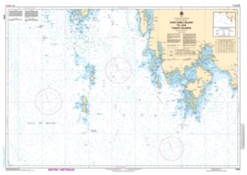 Buy map Cape Sable Island to/aux Tusket Islands by Canadian Hydrographic Service from Canada Maps Store
