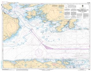 Buy map Canso Harbour to/au Strait of Canso by Canadian Hydrographic Service from Canada Maps Store