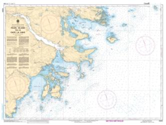 Buy map Pearl Island to/a Cape LaHave by Canadian Hydrographic Service from Canada Maps Store