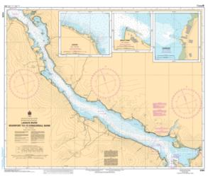 Buy map LaHave River - Riverport to/a Conquerall Bank by Canadian Hydrographic Service from Canada Maps Store