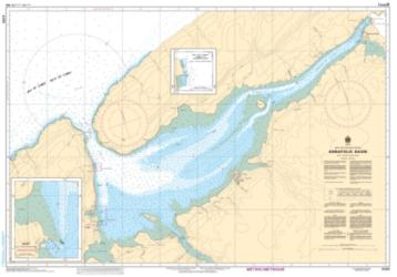 Buy map Annapolis Basin by Canadian Hydrographic Service from Canada Maps Store