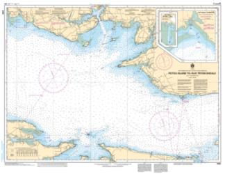 Buy map Pictou Island to/aux Tryon Shoals by Canadian Hydrographic Service from Canada Maps Store