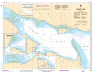 Buy map Havre de Gaspe by Canadian Hydrographic Service from Canada Maps Store