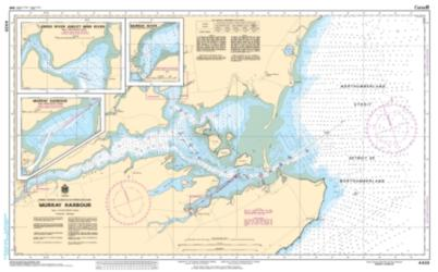 Buy map Murray Harbour by Canadian Hydrographic Service from Canada Maps Store