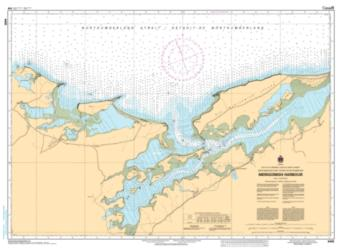 Buy map Merigomish Harbour by Canadian Hydrographic Service from Canada Maps Store