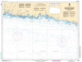Buy map Baie Washtawouka a/to Baie Piashti by Canadian Hydrographic Service from Canada Maps Store