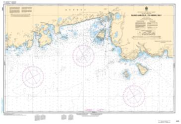 Buy map Blanc Sablon a/to Middle Bay by Canadian Hydrographic Service from Canada Maps Store