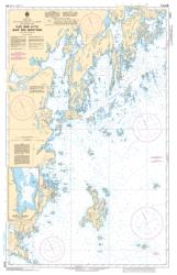 Buy map Iles Bun a/to Baie des Moutons by Canadian Hydrographic Service from Canada Maps Store