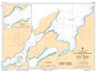 Buy map Little Bay Arm and Approaches/et les Approches by Canadian Hydrographic Service from Canada Maps Store
