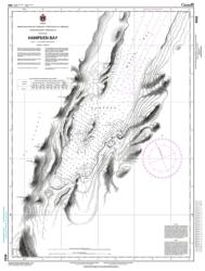 Buy map Hampden Bay by Canadian Hydrographic Service from Canada Maps Store