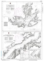 Buy map Pilleys Island Harbour-Halls Bay and/et Sunday Cove by Canadian Hydrographic Service from Canada Maps Store