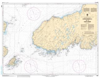Buy map Burin Peninsula to/a Saint-Pierre by Canadian Hydrographic Service from Canada Maps Store