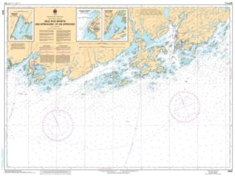 Buy map Isle Aux Morts and Approaches/et les Approches by Canadian Hydrographic Service from Canada Maps Store
